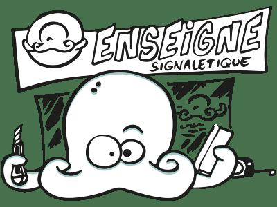 Poulpy Enseigne Signalétique