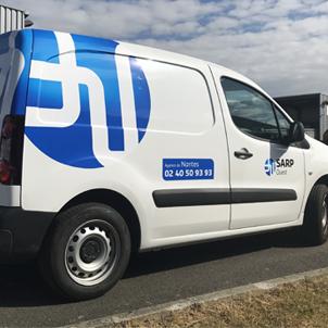 Adhésif camion et utilitaire
